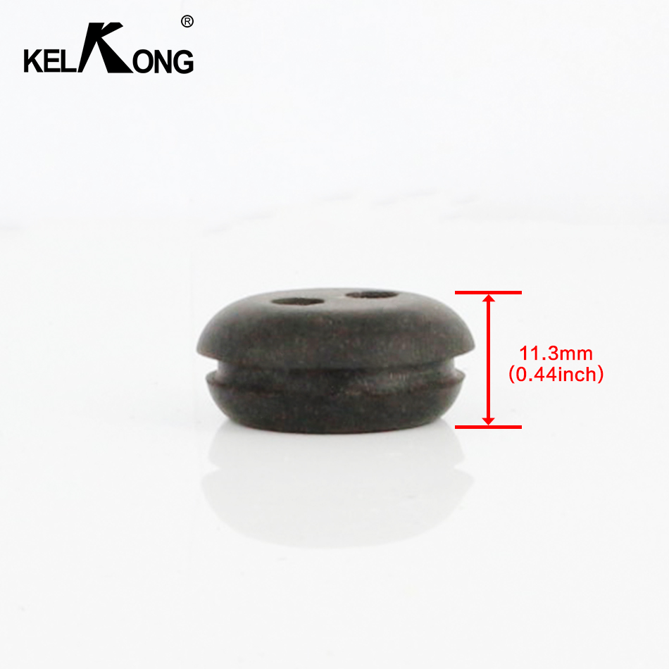 Image 4 - KELKONG 5PCS 2 Hole 20mm Rubber Grommet For String Craftsman Trimmer Lawn mower Chainsaw Blowers Brush Cutter Fuel Tank-in Carburetor from Automobiles & Motorcycles