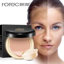 ROREC Air cushion BB Cream Isolation bb Nude Concealer Liquid Foundation Primer Cover Pores Face CC cream Long-lasting Brighten