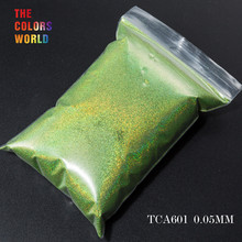TCT 069 24 najlepsze 0.05MM rozmiar holograficzny kolor najmniejszy rozmiar brokatowy proszek do paznokci, Tatto artystyczna dekoracja makijaż diy farba