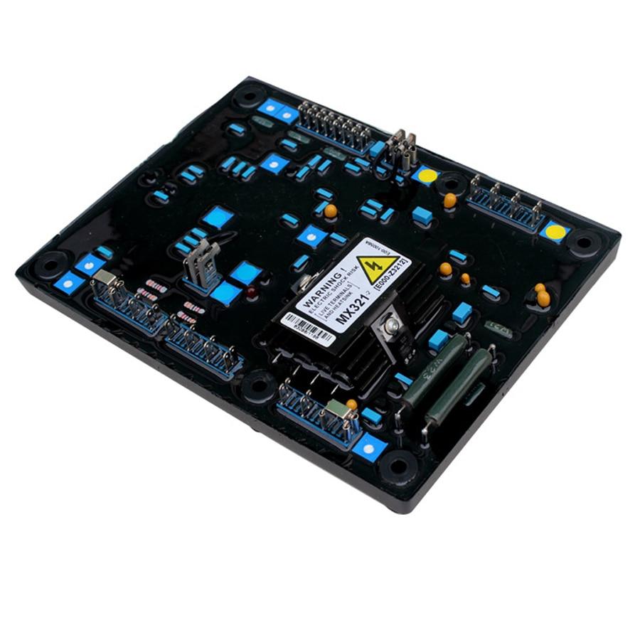 MX321 Blue capacitors 3 phase generator avr automatic voltage regulatorMX321 Blue capacitors 3 phase generator avr automatic voltage regulator