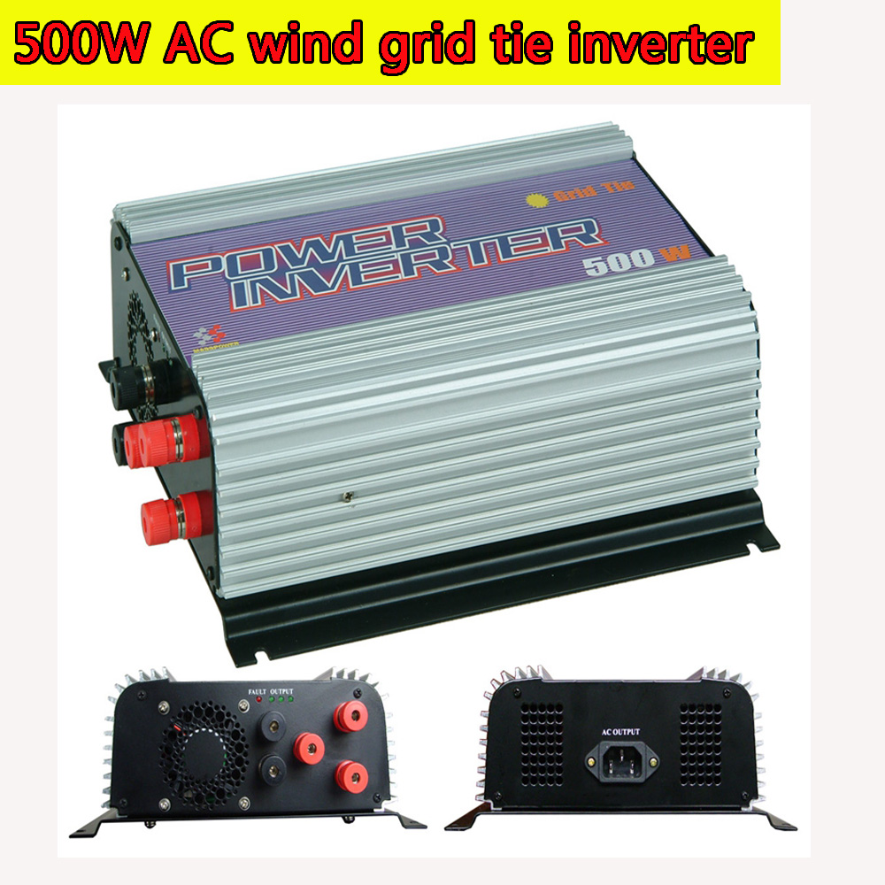 500W Grid Tie Power Inverter for 3 Phase AC Output Wind Turbine MPPT Pure Sine Wave Inverter with Built-in Dump Load Controller lacywear vok 119 svn