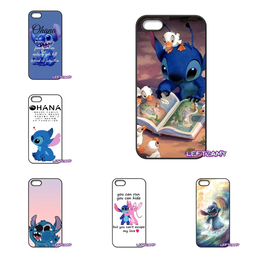 342fe3b18 Lilo Stitch Ohana Means Family Phone Case Cover For Samsung Galaxy Note 2 3  4 5