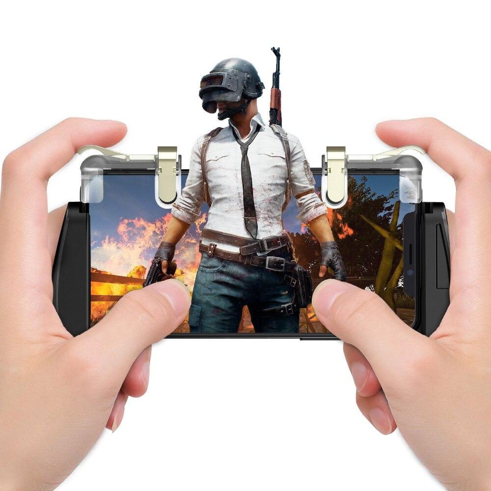 GameSir F2 Pour PUBG Gampads Main Grip Mobile Gaming Shooter règles de Survie/joystick/feu boutons pour 4.5-6.0 pouces