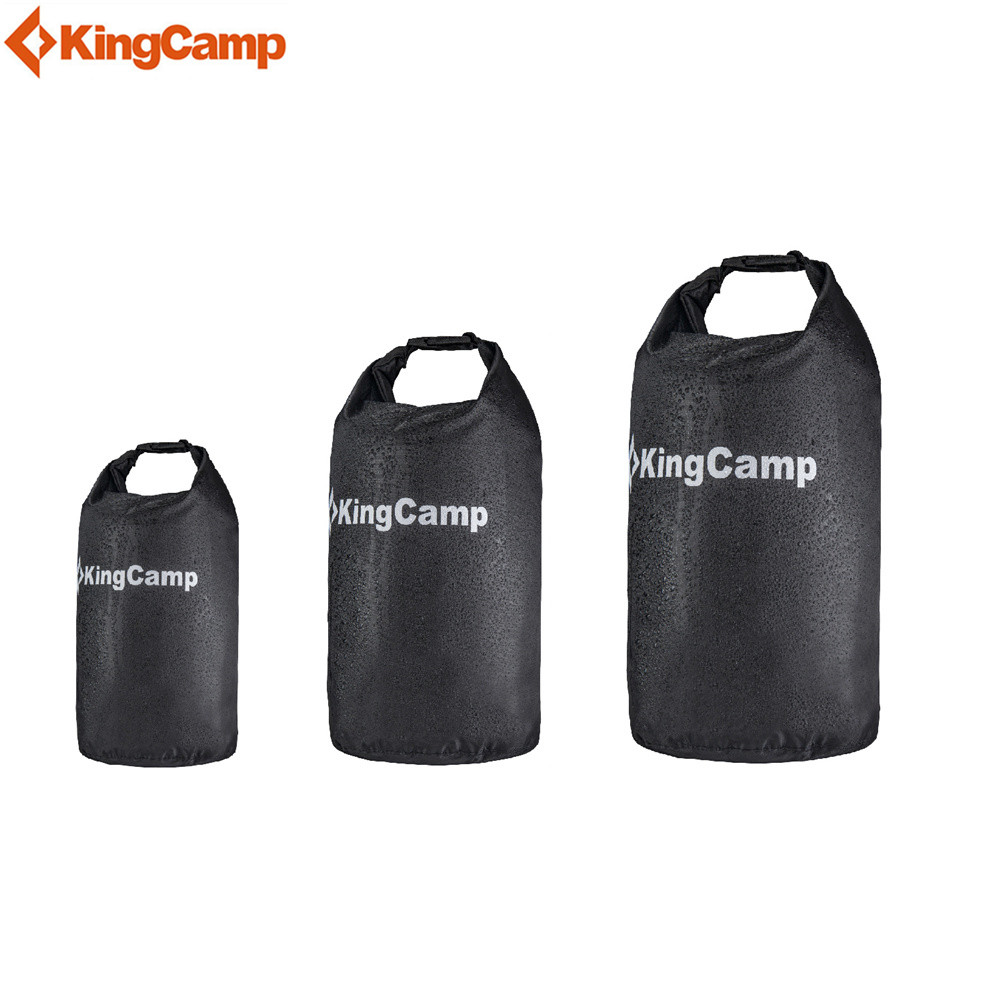 KingCamp 15L 25L 30L Waterproof Dry Bag Pouch Camping Boating Kayaking Rafting Canoeing Swimming bag