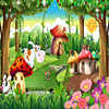 Custom 3D Photo Wallpaper Children Room Bedroom Cartoon Forest House Background Decoration Painting Wall Mural Papel De Parede 3