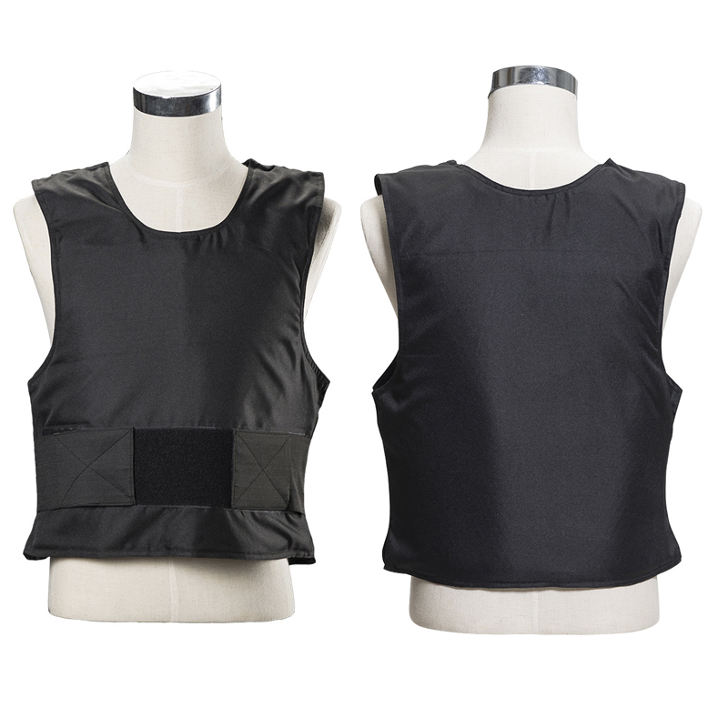 3 Layer Stab Resistant Vest Lightweight Soft For Police Use O-Neck Covert Schutzweste Tatico Self-Defense Anti Stab Covert Vest