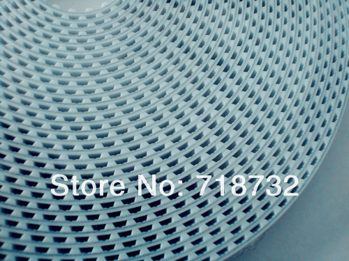 6mm width T5 open timing belt 50m length+200mm length T5 closed timing belt 15pcs 15mm width t5 steel core endless timing belt closed loop pu belt
