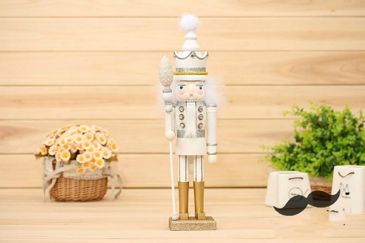 42 cm casse-noisette marionnette bois artisanat 35 cm décoration en bois Vintage décor à la maison décoration de noël - 4