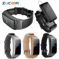 Smart Wrist Talk Band Wristband Watch Bluetooth Headset Earphone Bracelet Talkband Smartwatch Fitness Tracker For iOS Android