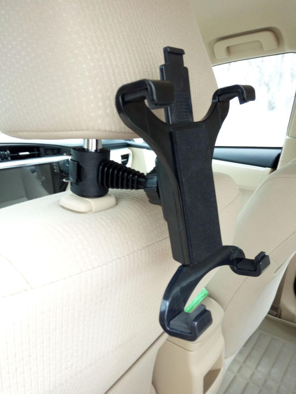 360 Rotation Adjustable Car Backrest Headrest Mount Holder For Car, Home Backrest, Detachable IPad/ Tablet