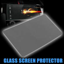 Premium Tempered Glass GPS Screen Protector Fits For 2016-2018 2017 Honda Civic Video DVD Glass Screen Protector Car Accessories цены