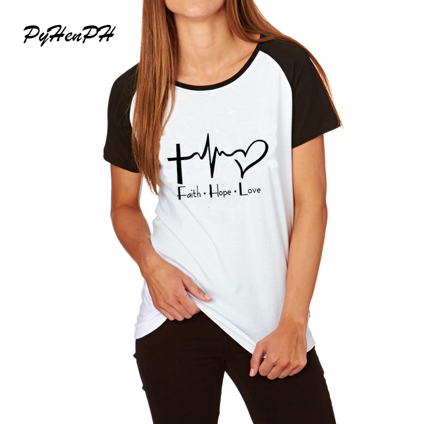 Amor esperanza fe cristiana camiseta Cristianismo Dios