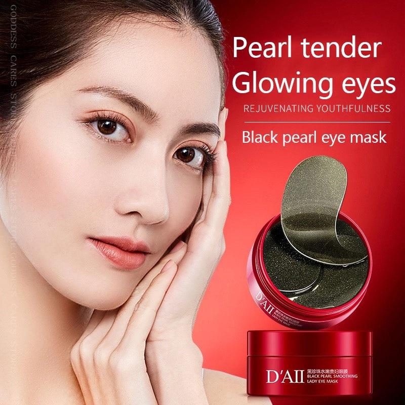 Gel Collagen Eye Patches 60pcs Remove Dark Circles Hydrogel Pearl Eyes Mask Anti-Puffiness Colageno Hidrolizado Moisturiz For P-3