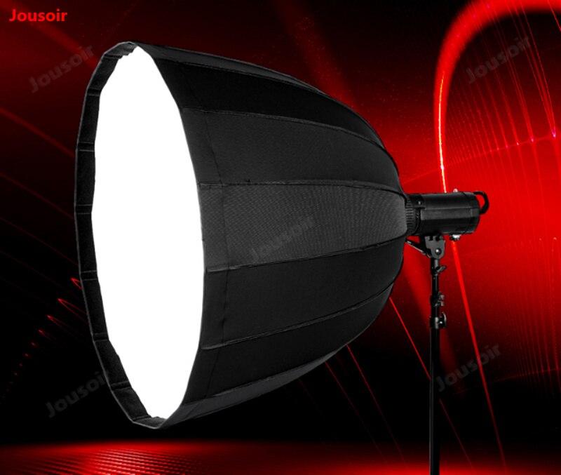 DishyKooker LED Foldable Difusor Soft Box LED Photography Fill Light for Speedlight Flash Light