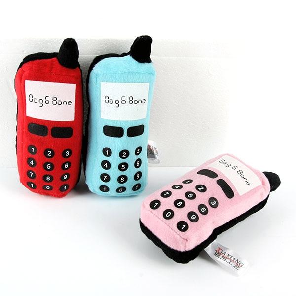 Giocattoli Del Cane da compagnia Gatto Pratica Del Telefono A Forma di Chew Gioc