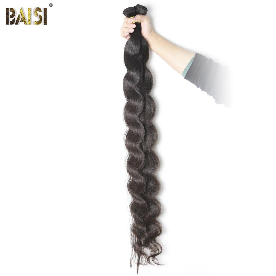 Baisi Usine Péruvienne Vierge Cheveux Corps Vague Plus Longue Longueur 28 30 32 34 36 38 40 42 pouces de Cheveux Humains extension Livraison Gratuite