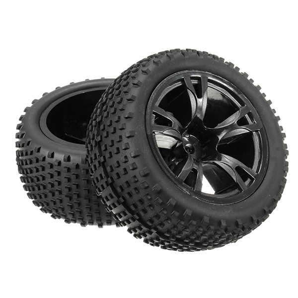 SST Alum chasis sin escobillas rueda de coche piezas de repuesto completas 2 piezas 12mm hexagonal 09407