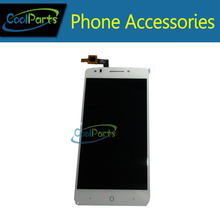 1PC/Lot White Color High Quality For ZTE Blade D Lux LCD Display and Touch Screen Digitizer  Free Shipping
