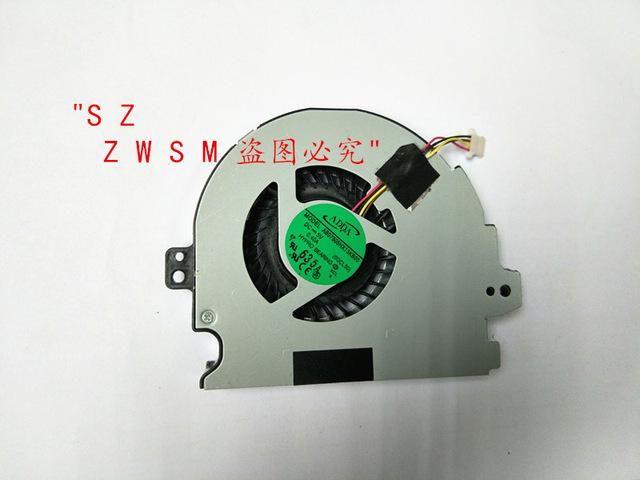 Genuino Nueva venta caliente Del Envío Libre CPU Del Ordenador Portátil Ventilador Del Refrigerador para hp para envy m6 m6-1000 m6t $ number pines dc5v 0.4a equipo