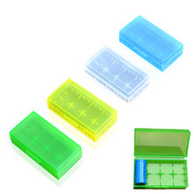 5 Pz/lotto Colore Casuale Impermeabile Storage Battery Box Per 18650(China)