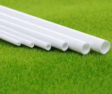 Teraysun Dia 2mm-10mm mm ABS plastic round tube pipe model making scenery architectural constructions models