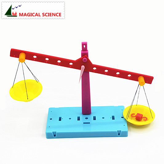 Wholesale Plastic Educational Lever Principle Balance Scale Experiments Diy Material Physics Teaching For Kids Students #5