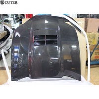 Carbon fiber engine hood engine cover for Chevrolet Camaro car body kit 10 13