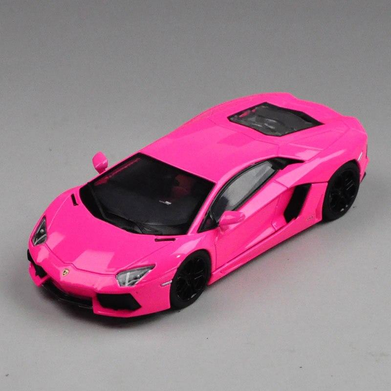 Hoge Kwaliteit Luxe Speelgoed Welly Mini Collectie gegoten Automodellen 1:43 GTA Rambo LP700 4 Racing auto Verjaardagscadeau Paars/roze-in Diecast & Speelgoed auto´s van Speelgoed & Hobbies op  Groep 2