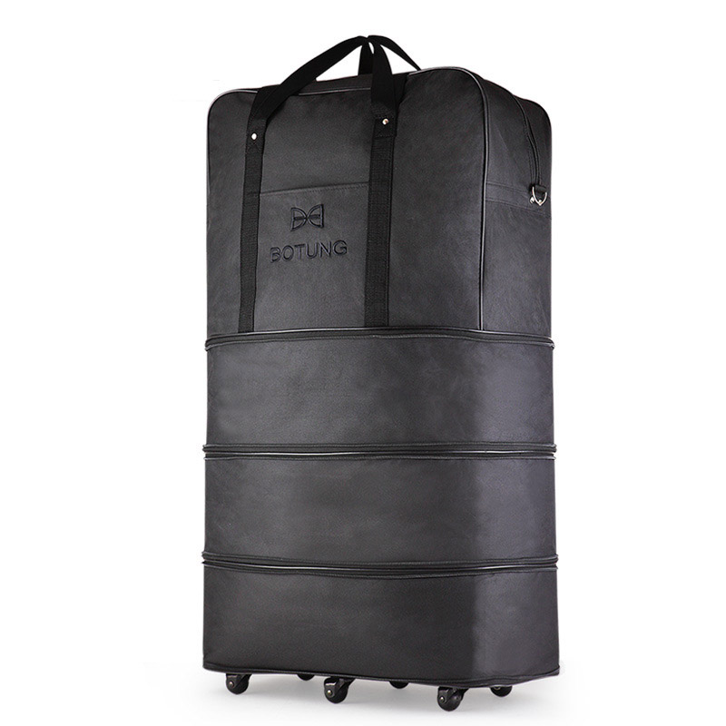 Air Shipping Folding Luggage Bag Large Capacity Spinner Wheel Move 36 inch Travel Bag Luggage Trolley Bag