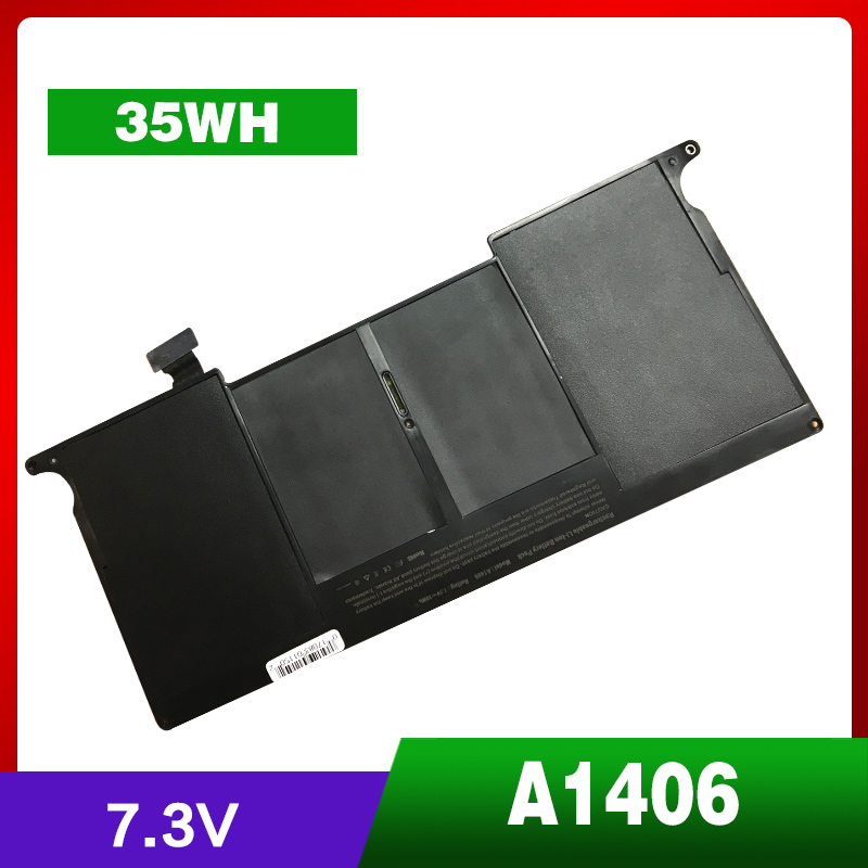 35Wh NEW Laptop Battery For Apple MacBook Air A1406 A1370 2011 Production A1465 MC965 new 28 color casual boot genuine leather flats shoes shoelace shoes boot lace shoes strap shoeslaces 500pairs lot via dhl ems