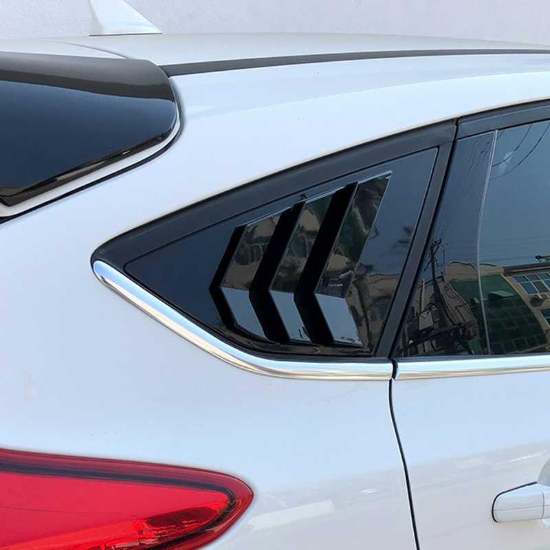 Pcmos Новая задняя панель задней боковой части кузова боковые жалюзи вентиляционная отделка Подходит для Ford Focus 2012-2018 хэтчбек 4D тюнинговые молдинги 2 шт./компл.