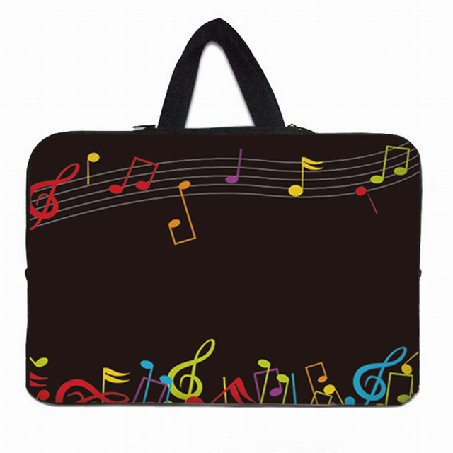 Muziek Tijd Prachtige 2020 Laptop Carry Sleeve Bag Capa Para Notebook 10 12 13 14 15 17 Inch Nieuwe Computer cover Cases Vogue Pouch
