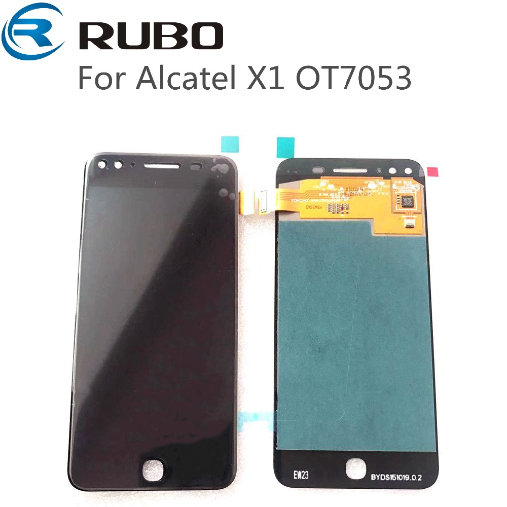 For Alcatel X1 7053 OT7053 LCD Display With Touch Screen Digitizer Assembly For alcatel OT7053 Full