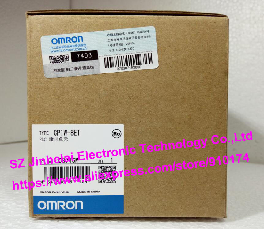 New and original CP1W-8ET  OMRON PLC OUTPUT UNIT cp1w ext01 new and original omron plc communication adapter