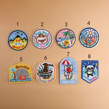 1PCS Cartoon Lovely Animals Panda Elephant Patch for Clothes Sew Iron On Appliques Diy Coat T-shirt Kid Garment Embroidery Patch(China)