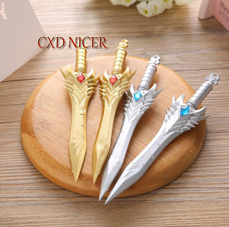Tu Long Knife Game Sword Weapon Gel Pen Korean Creative Signing Pen For Writing Office Student Prizes Material Escolar Dd1676 ...