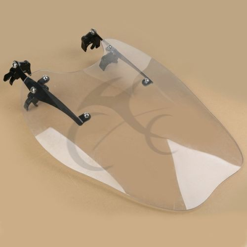 Clear Windscreen Windshield Wind Shield Screen For Harley Sportster XL883 1200 86 11 motorcycle