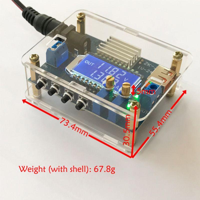 Tension constante/courant réglable Buck Module haute précision DC abaisseur carte LCD affichage numérique