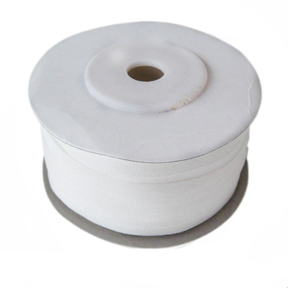 100% rubans de soie Pure pour broderie artisanat Art, Double Face mince taffetas naturel blanc cassé 7mm (1/4 pouces) * 100 m (109 yard)