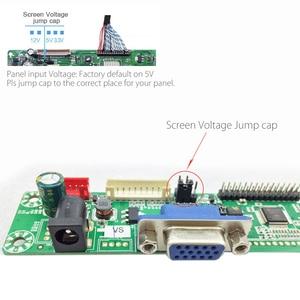 Image 3 - Programa livre verison MT561 MD vga + dc lvds lcd placa de motorista geral para 10 42 polegada painel do monitor lcd com botão de 5 teclas e energia