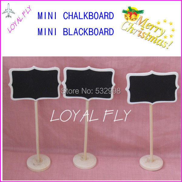 120pcs rectangle Mini Chalkboards Blackboard On Stick Stand,Table Display,Wedding Chalkboard,food marker,buffet labels,signage