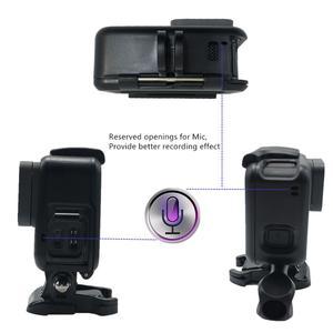 Image 5 - Suptig لملحقات GoPro إطار واقي غلاف كاميرا الفيديو الإسكان لgopro Hero2018 Hero5 6 Hero 7 الأسود عمل الكاميرا