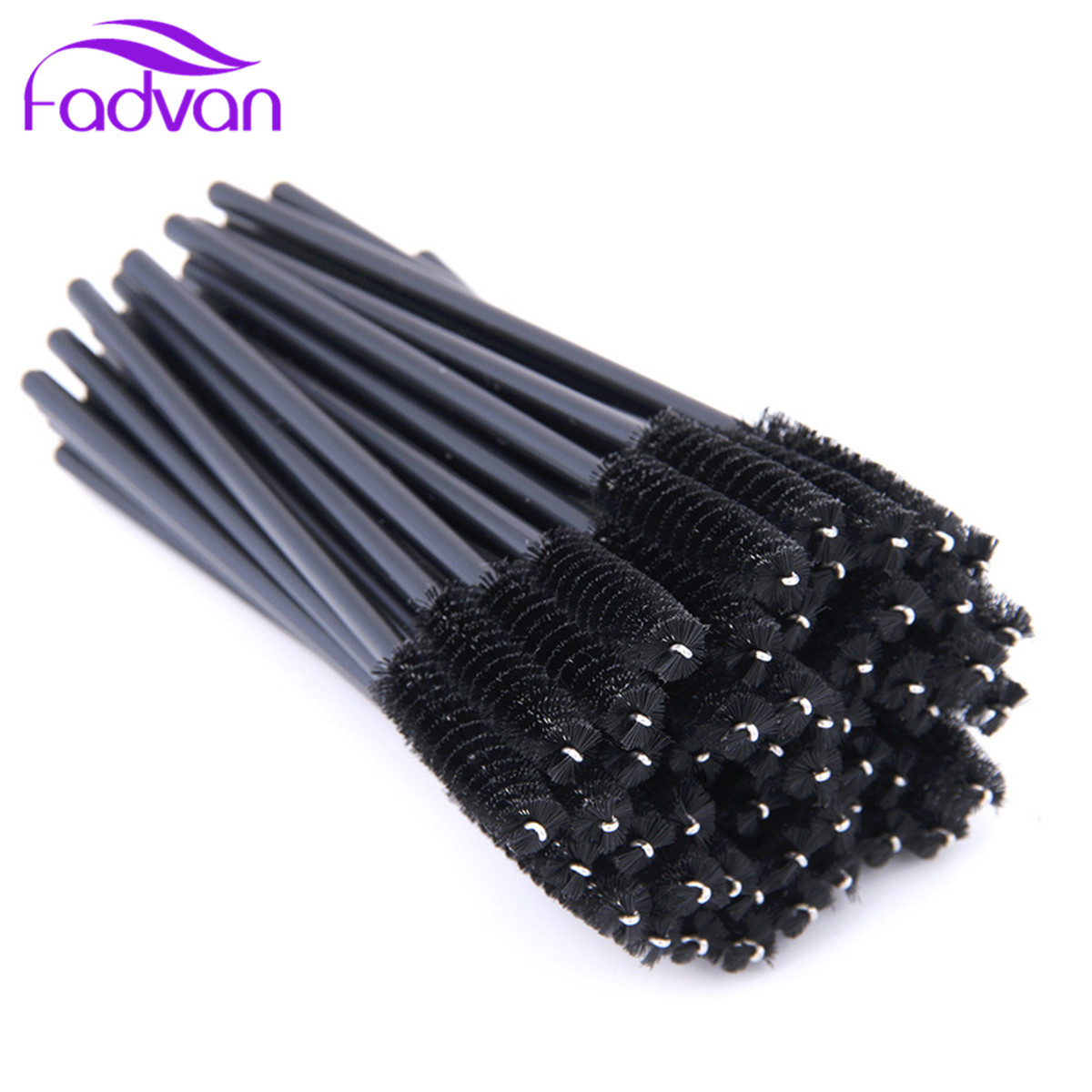 250 Pcs/Set Mascara Wands Applicator Spoolers Eye Lashes Brushes Eyelash Comb Brushes Spoolers Makeup Eyelash Eye Lash Brush цена