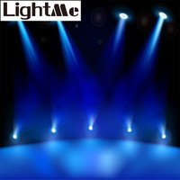2016 New High Quality 200 220LM 3W AC90 240V Mini LED Spot Light Stage Lighting Projector