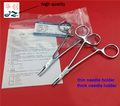 Medical stainless steel needle holder needle forceps for surgical use tool holder pliers thin/thick needle 10pcs/pack