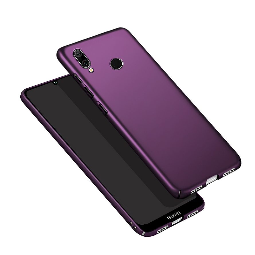 Luxury Phone <font><b>Case</b></font> For <font><b>Huawei</b></font> <font><b>Y7</b></font> <font><b>2019</b></font> <font><b>360</b></font> Hard Plastic Back Cover <font><b>Case</b></font> For Coupe <font><b>Huawei</b></font> <font><b>Y7</b></font> <font><b>2019</b></font> Y 7 Prime Y7Prime Dual Phone Bag image
