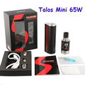 100%  Electronic Cigarette Mods Smokjoy 65W  3000mah Talos Mini Kit 65W box mod Talos mini box mod kit for  E cig vaporzier YY