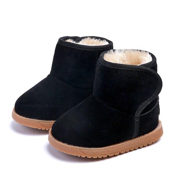 Botas con forro cálido negro 1