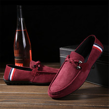 купить Spring Summer NEW Men's Loafers Comfortable Flat Casual Shoes Men Breathable Slip-On Soft Leather Driving Shoes  Boat  Moccasins дешево