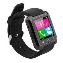 1.54นิ้วป้องกันการสูญหายLCD touch screenบลูทูธU80สมาร์ทข้อมือนาฬิกาบลูทูธโทรศัพท์MateสำหรับA Ndroid ip hone IOS HTCซัมซุงLG